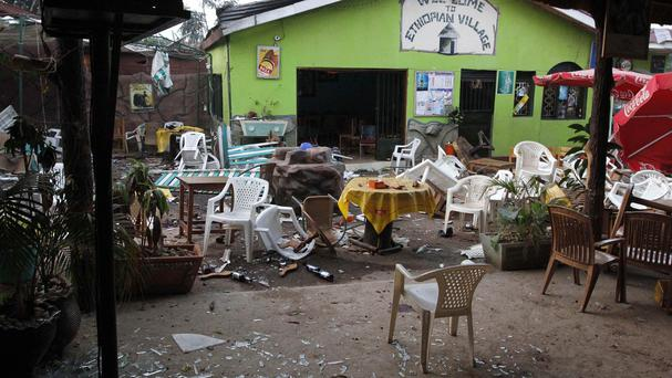 Al-Shabab claimed responsibility for deadly attacks in 2010 that targeted restaurants and bars showing World Cup games in Kampala. (AP Photo/Marc Hofer)
