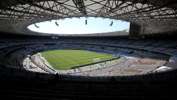 An overpass has collapsed in Belo Horizonte, a city home to World Cup stadium Estadio Mineirao