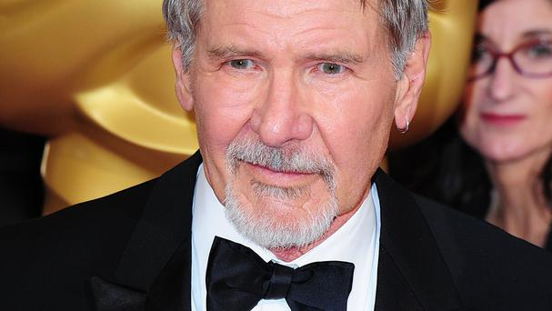 Harrison Ford was injured on the set of Star Wars