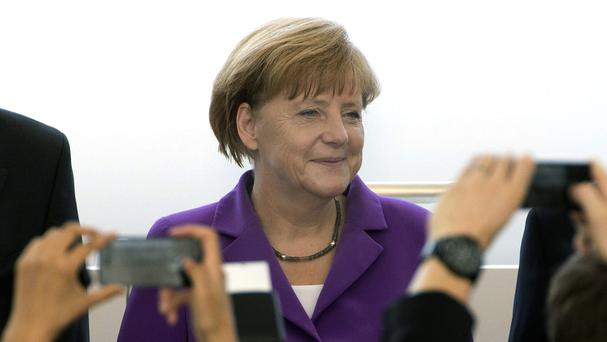 Relations between Berlin and Washington are already strained amid reports the US National Security Agency spied on Chancellor Angela Merkel's mobile phone (AP)
