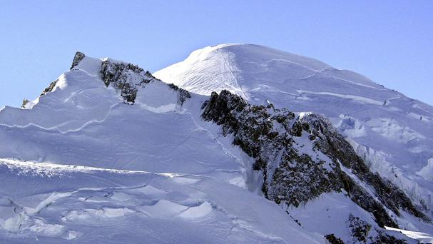 The body of a French climber who disappeared more than 32 years ago has been discovered on the slopes of Mont Blanc (AP)