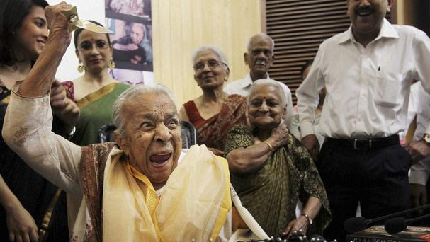 Actress and dancer Zohra Sehgal has died aged 102 (AP)