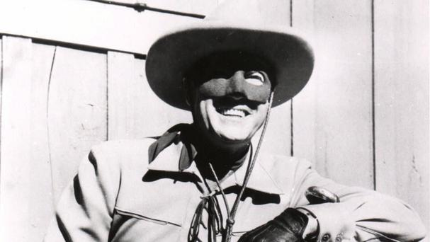 Clayton Moore as the Lone Ranger (AP)