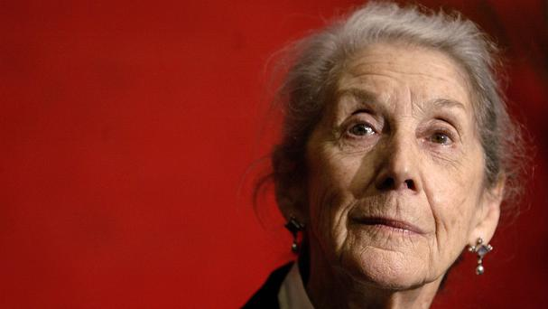 Nobel Prize-winning author Nadine Gordimer died in her sleep in Johannesburg (AP)