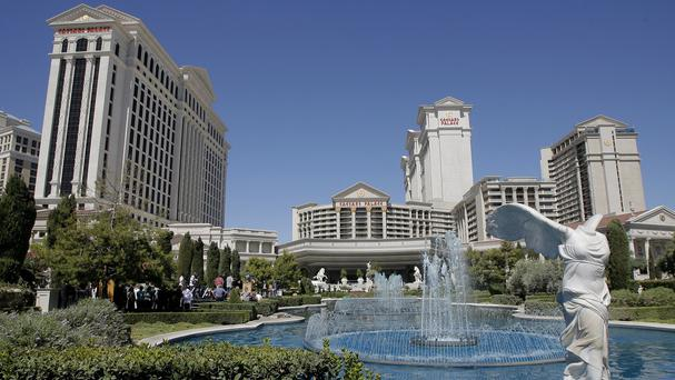 An illegal World Cup gambling ring is said to have been run from the Caesars Palace hotel-casino in Las Vegas (AP)