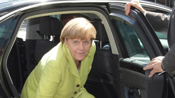 EU leaders including Angela Merkel are to consider tougher sanctions on Russia in response to the Ukraine situation