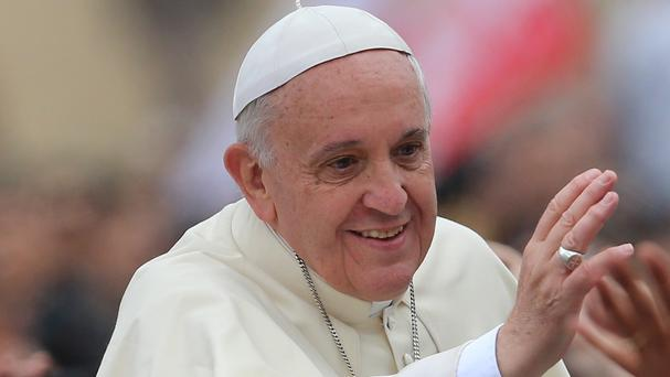 Pope Francis is using a smartphone-recorded message to demand justice for victims of the Argentina Jewish centre bombing
