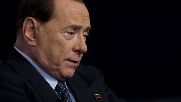 Silvio Berlusconi had been accused of of paying for sex with an under-age prostitute (AP/Andrew Medichini)