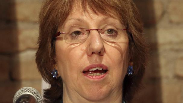 European foreign policy chief Baroness Ashton announces the extension of Iran nuclear talks (AP)