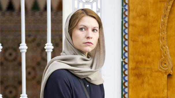 Claire Danes as Carrie Mathison in Homeland (AP/Showtime)
