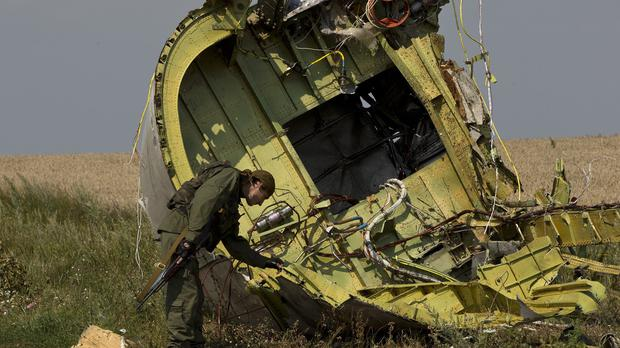 The US had no direct evidence that the missile used to shoot down passenger jet MH17 came from Russia (AP)