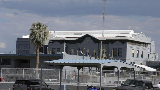 The Arizona state prison where the execution of Joseph Rudolph Wood took place (AP)