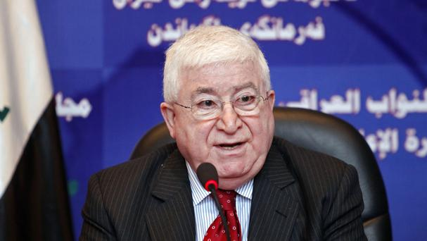 Fouad Massoum has been named president of Iraq
