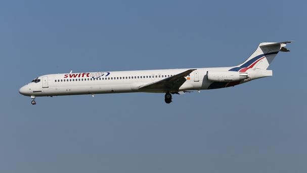 An Air Algerie MD-83 aircraft being operated by Swiftair disappeared from radar over northern Mali (AP)