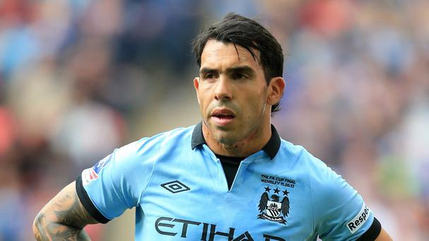 Carlos Tevez is now playing for Italian club Juventus
