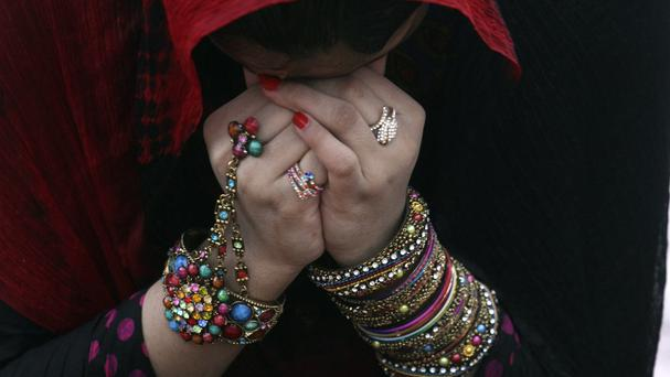 Many people have been celebrating Eid al-Fitr, the holiday marking the end of the Muslim fasting month of Ramadan (AP)