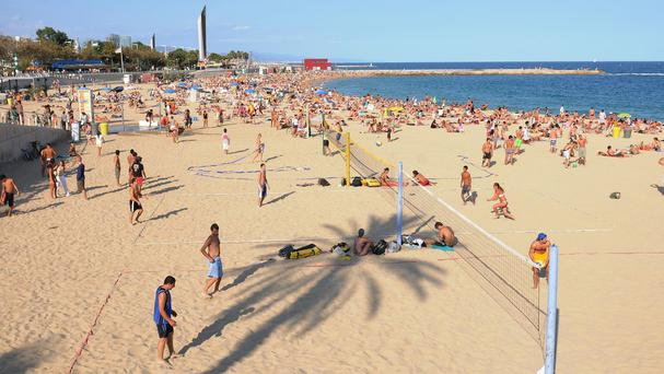 The stoppage comes as people travel for their summer holidays