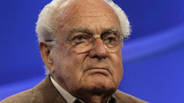 Robert Halmi Sr has died aged 90. (AP Photo/Nick Ut, File)