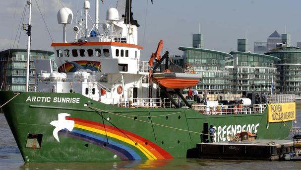 The Arctic Sunrise has been released by Russian authorities