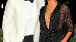 Jay Z and Beyonce arriving at the Metropolitan Museum of Art Costume Institute Gala Benefit in New York