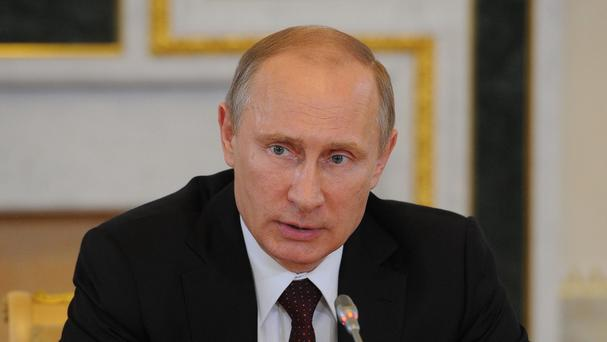 Vladimir Putin has ordered imports of food and agricultural products from the countries that have imposed sanctions against Russia over the conflict in Ukraine to be restricted (PA/ITAR-TASS)
