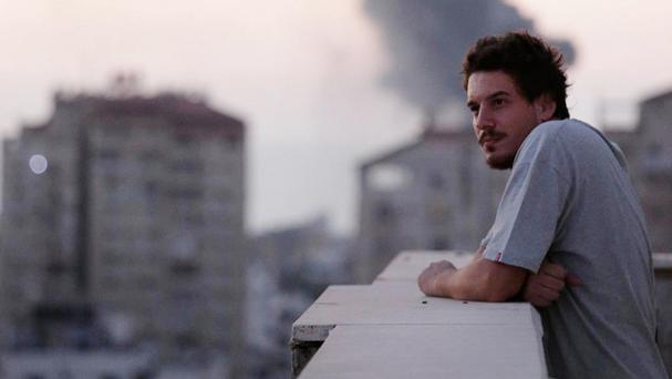 Associated Press video journalist Simone Camilli was killed in an ordnance explosion in the Gaza Strip (AP)
