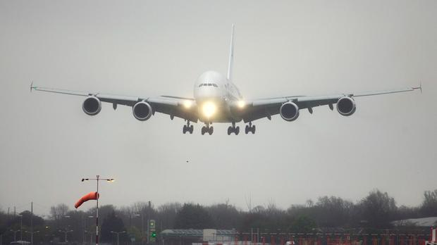A plane was forced to make an emergency landing at Shannon Airport after a woman on board went in labour