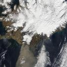 Ash billowing from the Eyjafjallajkull volcano in Iceland caused aviation chaos in 2010