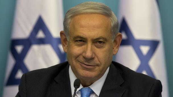 Israeli prime minister Benjamin Netanyahu declared victory in the recent war against Hamas in the Gaza Strip (AP)