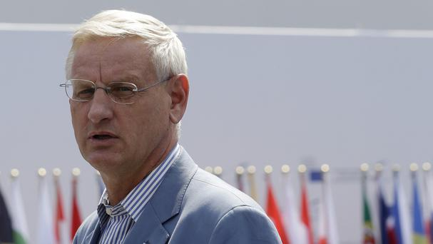 Carl Bildt said the EU is 'in the midst of the second Russian invasion of Ukraine within a year'