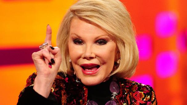 Joan Rivers suffered a cardiac arrest on Thursday