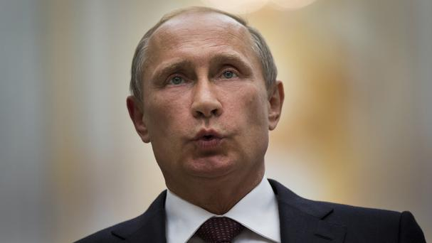 Russian president Vladimir Putin has expressed hopes of a deal to end fighting in eastern Ukraine