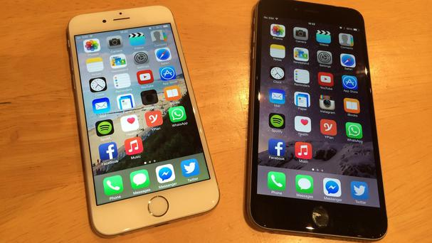 The new iPhone 6 and iPhone 6 Plus handsets