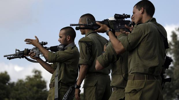 The suspected murderers of three Israeli teenagers have been killed in a West Bank gun battle with the military (AP)