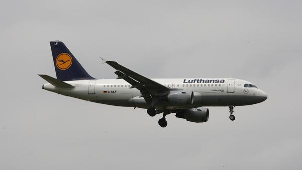 Lufthansa pilots are striking in an ongoing dispute over retirement benefits.