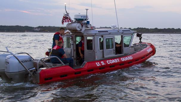 US coast guard have since called off their search