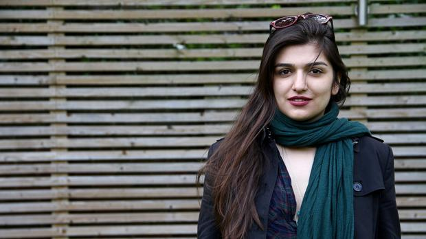 Ghoncheh Ghavami was detained while trying to attend a men's volleyball game (AP)
