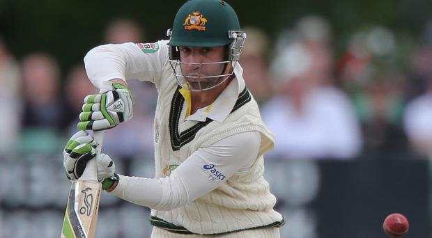 Phil Hughes died two days after he was hit on the head by a ball during a game between New South Wales and South Australia