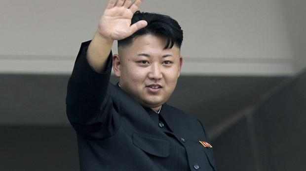 North Korean leader Kim Jong Un threatened strikes against America over the Sony hacking row (AP)