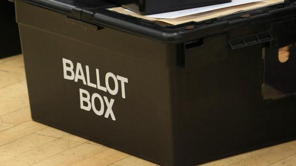 Emergency ballot boxes were on standby as huge numbers of voters descended on polling stations to cast their votes in the by-election and two referendums