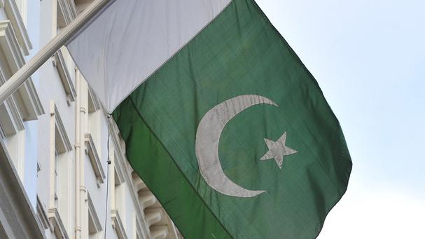Pakistan flag (Stock photo)