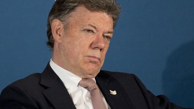 President Juan Manuel Santos said the Revolutionary Armed Forces of Colombia is honouring its ceasefire (AP)