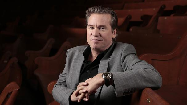 Val Kilmer is being treated at a Los Angeles hospital (AP)