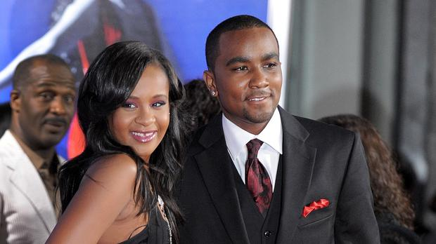 Bobbi Kristina Brown and Nick Gordon, pictured at a Hollywood film premiere in 2012 (AP)