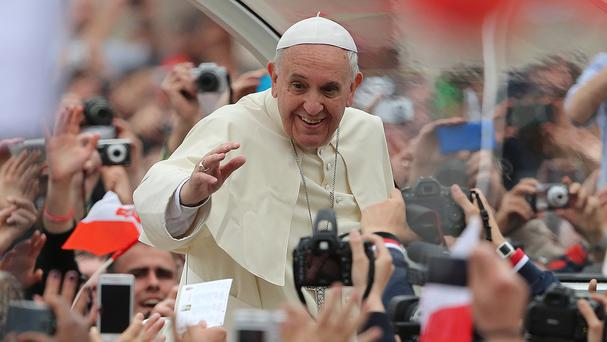 The Pope has said the maximum steps must be taken to ensure children are protected