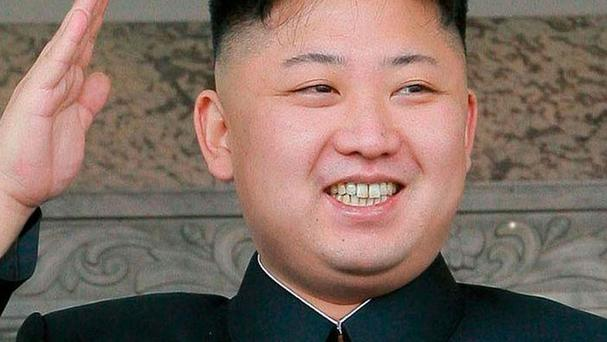 Kim Jong-un was reportedly on-site to observe the