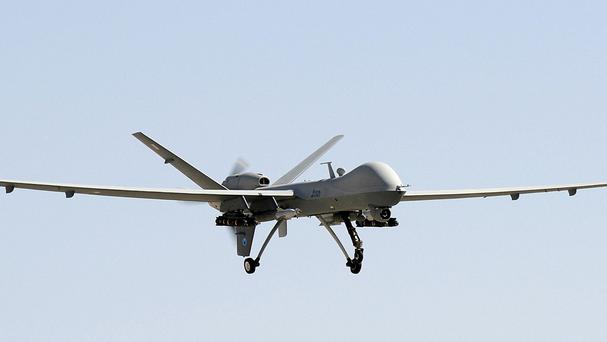 Afghan officials said a senior Islamic State commander has been killed in a drone strike in Helmand province