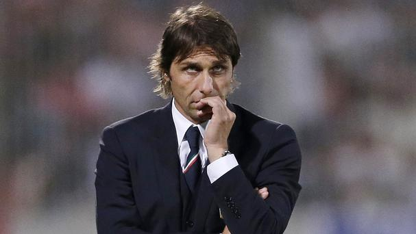 Italy coach Antonio Conte has been formally notified by a state prosecutor that he is under investigation for alleged match-fixing (AP)