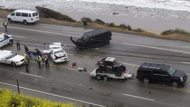One person died in the crash involving Jenner's vehicle in Malibu