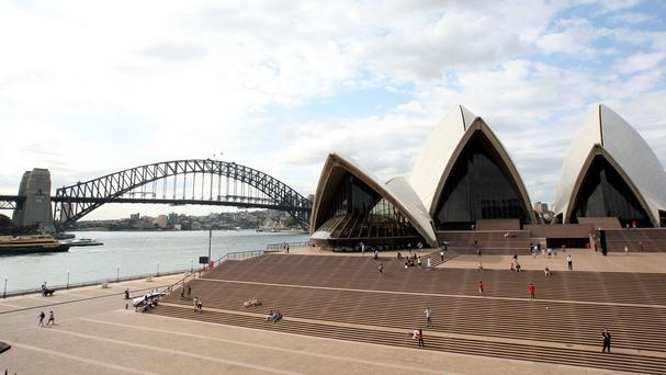 Two suspected terrorists have been arrested in Sydney
